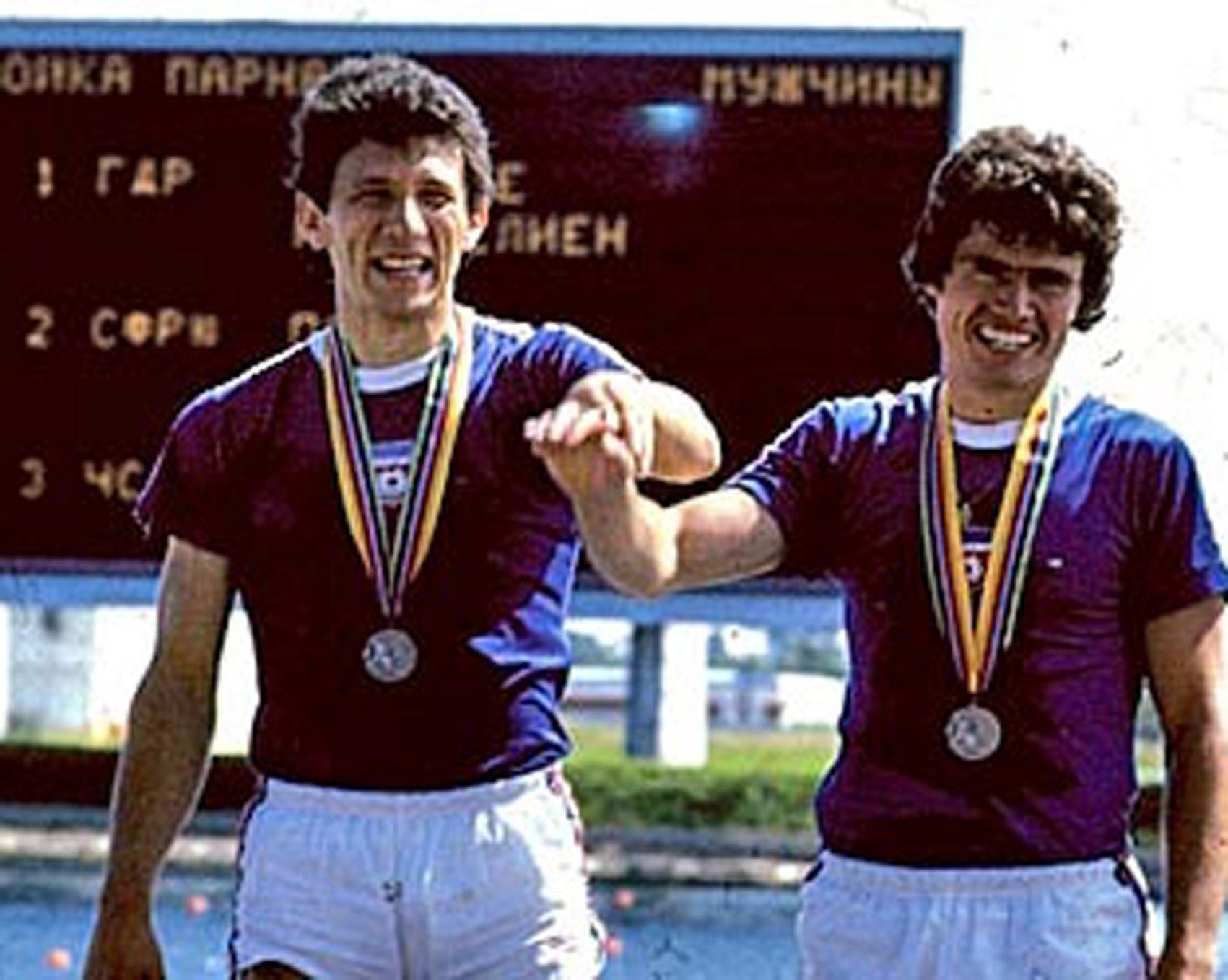 Veslanje – OI Moskva 1980.